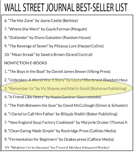 wall street journal best seller list